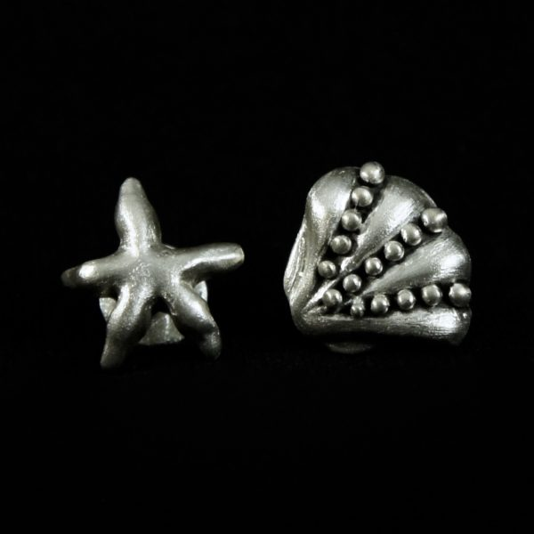 Starfish/Seashell Cuff Link