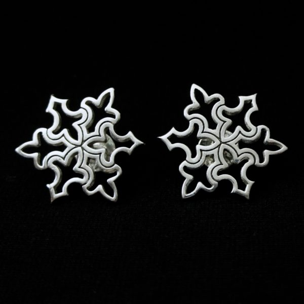 Snowflake Cuff Link
